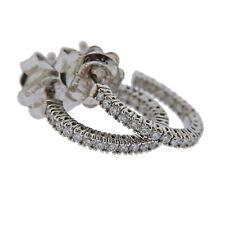 New Chimento 18k Gold Diamond Small Hoop Earrings