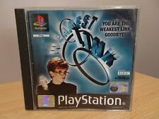 The Weakest Link...PS1 Game..(Free Post AU)