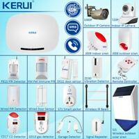 KERUI GSM SMS Autodial Security Alarm System Wireless Sensor Accessories Lot