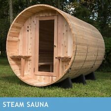Almost Heaven Huntington 6-person Outdoor Steam Sauna - NEW & SHIPS FROM FACTORY