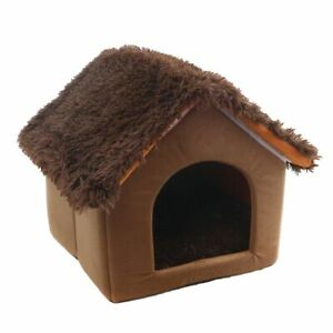 Pet House Durable Comfortable Cotton Bed Kennel Nest For Cat Litter Mat Pet Home