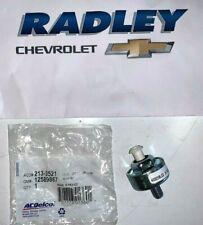 NEW OEM GM CHEVROLET AC DELCO Original Chevy Knock Sensor 213-3521 12589867