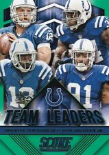 2015 Panini Score, Team Leaders, (Green), Colts, Andrew Luck T.Y. Hilton #17