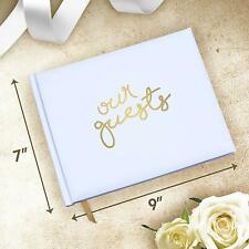 Wedding Guest Book Perfect Registry for Signatures & Messages Bonus Pages 64 pgs