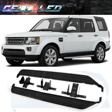 For 05-16 Land Rover Discovery LR3 LR4 Aluminum Running Board Step Side Nerf Bar