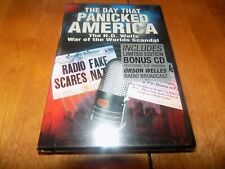 THE DAY THAT PANICKED AMERICA H.G. Wells Orson Welles War of the Worlds DVD NEW