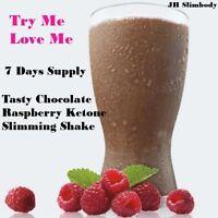 7Day Complete Slim*Lose upto 7 lbs plus-Slimming Chocolate Raspberry Juice Shake