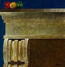 Cuban Artist Painter,Cesar Beltran, Original Acrylic on Canvas.