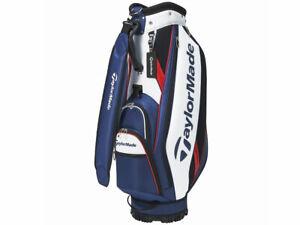 TaylorMade Golf Men's Caddy Bag TRUE-LITE 9.5 x 47 inch 2.8kg Navy White KY833