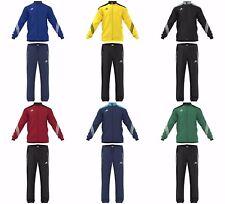 Adidas Sereno Mens Full Tracksuit Zip Bottoms Tops Jogging Sports Football Size
