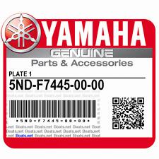 NOS Yamaha 5ND-F7445-00-00 Footrest bracket