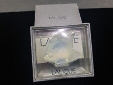 Lalique Crystal Fish Sculpture Figurine, Opalescent Clear, #3001300 – New In Box