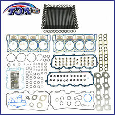 NEW CYLINDER HEAD STUD KIT&HEAD GASKET SET 18mm FOR 03-06 FORD 6.0L POWERSTROKE