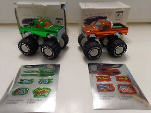 MAJORETTE MONSTER TRUCKS X2 - THUNDER WARRIOR & BLAZER CRAZY HORSE 1995 BOXED