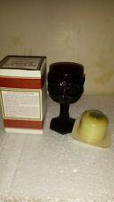 Vtg 1876 Cape Cod Wine Goblet Candle Holder Unused