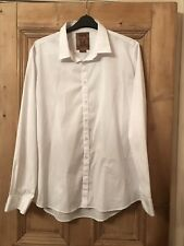 Pearly King Smart White Fitted Shirt Sixe XXXL Bnwt