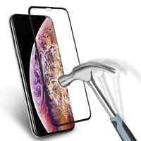 IPHONE XS MAX X XR PROTECTION INTEGRAL FILM VITRE PROTEGE ECRAN 3D VERRE TREMPE