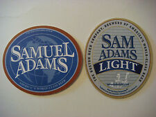 Coaster <> SAMUEL ADAMS World Class Light Beer ** See STORE For 1000s More Items