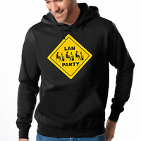 Lan Party Gamer Egoshooter Ego Shooter Nerd Geek Kapuzenpullover Hoodie Sweater