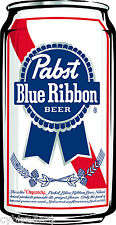 Pabst Blue Ribbon Beer Can  Refrigerator / Tool Box Magnet
