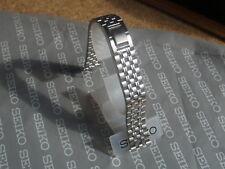 Seiko 17mm Reloj Correa De 2 Piezas De Acero Inoxidable Pulsera 4522-B.E