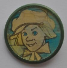 1970s USSR Russia SOVIET CIRCUS Plastic Stereo Pin Badge Magician