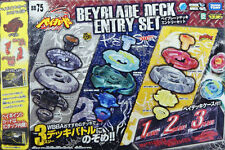 Takara Beyblade Metal Fight Fusion BB75 Deck Entry Set MISB Free Shipping Fast