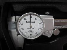 New Mitutoyo 8 Dial Caliper 505 743