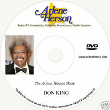 Don King TV Interview   2 part (1 hour)  DVD
