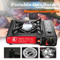 2900W Portable Outdoor Picnic Gas Burner Foldable Camping Steel Stove Cooker