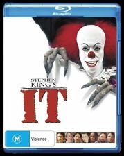 IT (Stephen King's) (Blu-ray, 2017)(Region B) Aussie Release