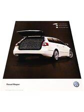2007 VW Volkswagen Passat Wagon Vintage Advertisement Car Print Ad J412