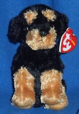 TY BRUTUS the ROTTWEILER BEANIE BABY - MINT with MINT TAG (2010 VERSION)