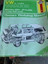 VW VANAGON 1980 Thru 1883 Manual