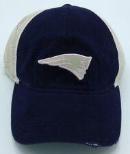 13e0ea793a349 NFL New England Patriots Reebok Womens Adjustable Half Mesh Distressed Cap  NEW!