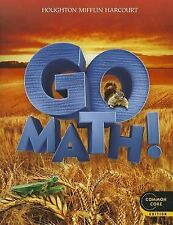 Go Math! Grade 2 (2011, Paperback, Student Edition of Textbook)