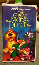 The Great Mouse Detective black diamon VHS with inserts