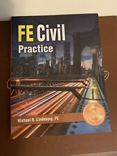 FE Civil Practice by Michael R. Lindeburg (2017, Trade Paperback)