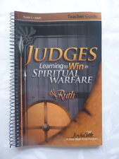 NEW A Beka Bible Sunday School Youth Grades 10-12 Adult Bible Study Judges Ruth