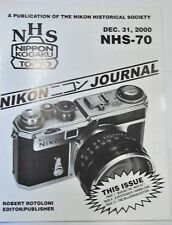 Nikon Historical Society Journal 2000: Making the new Nikon S3!