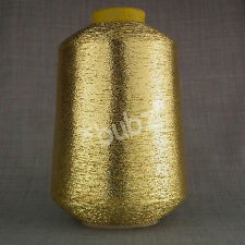 FINE LUREX METALLIC GLITTER YARN - 500g CONE - MACHINE KNITTING SPARKLE GLITTER
