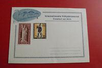 Internationale Frühjahrsmesse Frankfurt a. Main  / 2 Berlin Briefmarken 1957