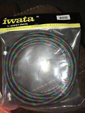 Iwata Airbrushes Braided RG-3 and W-100 Air Hose 10' IWABT010 HH