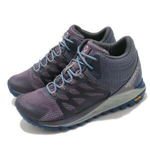 Merrell Antora 2 Mid GTX Gore-Tex Purple Grey Blue Women Outdoors Hiking J066748