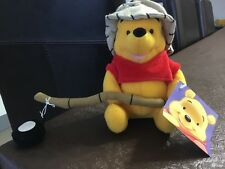 Winnie the Pooh Fisherman soft toy - Part of a collection. Brand new with tags