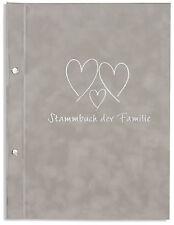 A4 Stammbuch der Familie -Resda-, grau, Familienstammbuch, Stammbücher, Din A4