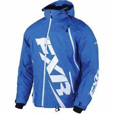 FXR RACING BOOST JACKET Snowmobile Jacket  SIZE - 2XL BLUE 15108.40019