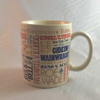 Roe Vs Wade Supreme Court Legal Coffee Mug Major SCOTUS Decisions Mug Political