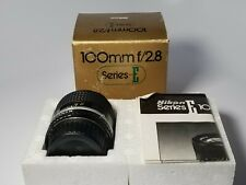 Nikon Nikkor AIS 100mm F/2.8 Series E Manual Focus Lens {52} UG