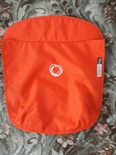 bugaboo frog tailored fabric canvas carrycot apron orange with quilt lining